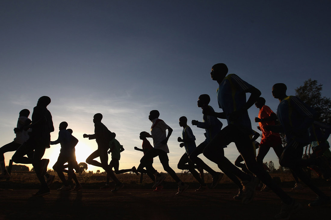Abel Kirui training group, Angily