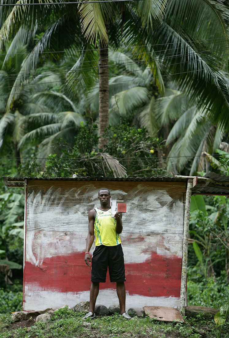 Usain Bolt, Brandon Hill, Jamaica, October 2006