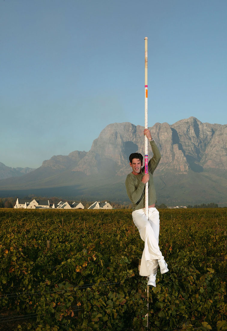 Okkert Brits, Stellenbosch, South Africa, May 2004