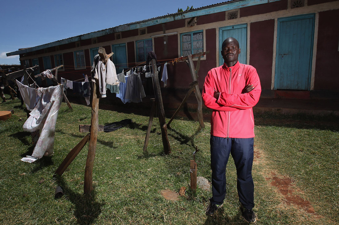 Abel Kirui training accommodation, Angily