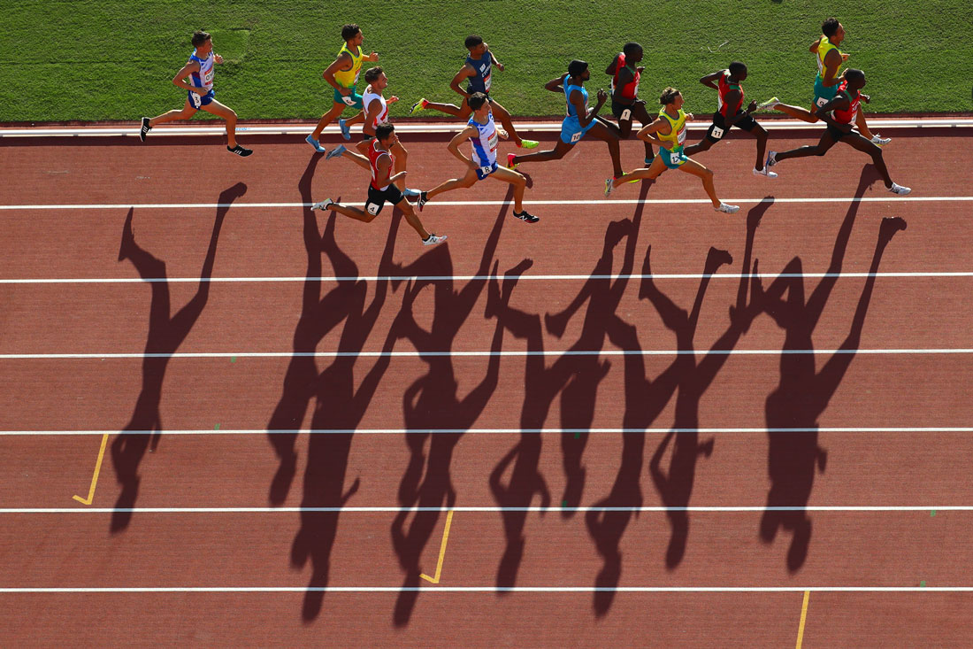 Men's 1500m final, Gold Coast Commonwealth Games, Australia, April 2018