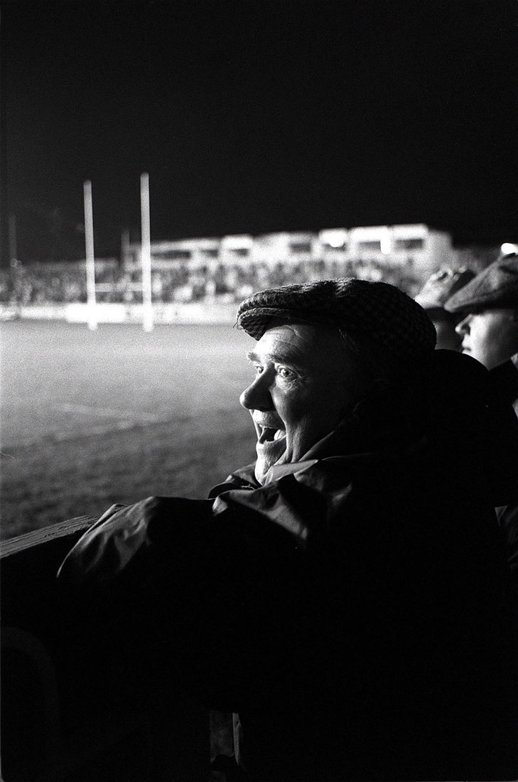 Wakefield Trinity supporter, Belle Vue, Wakefield, February 1992