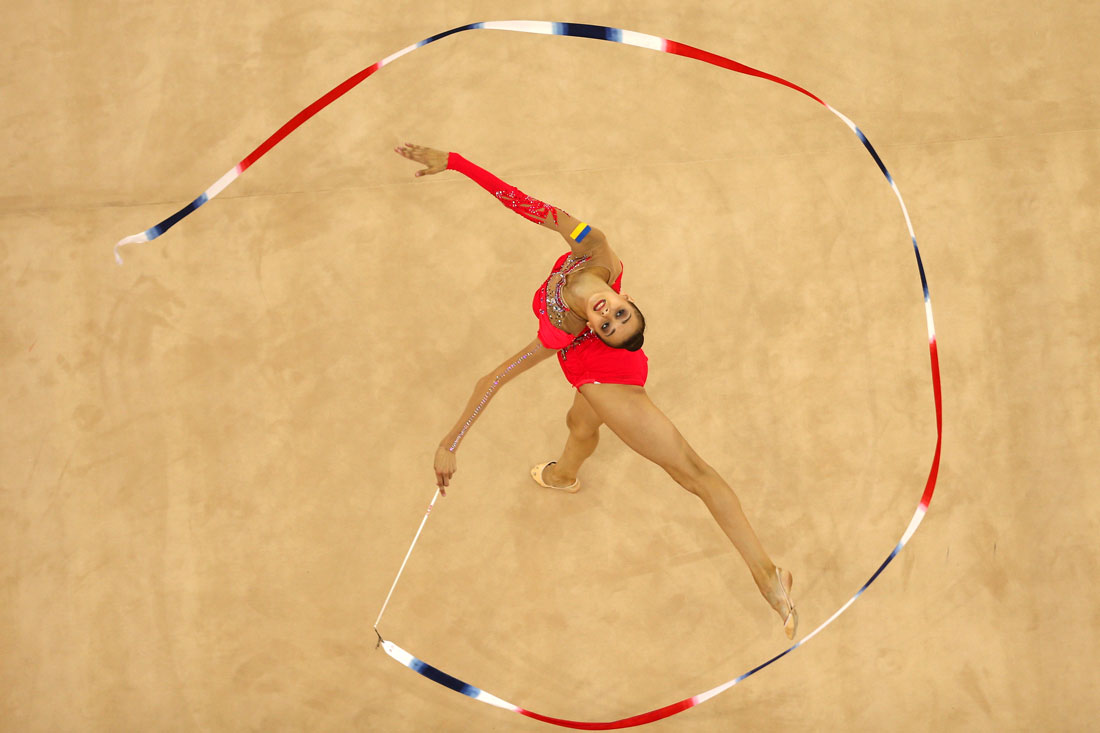 Eleonara Romanova, All Round Rhythmic Gymnastics,European Games,Baku, Azerbaijan, June 2015