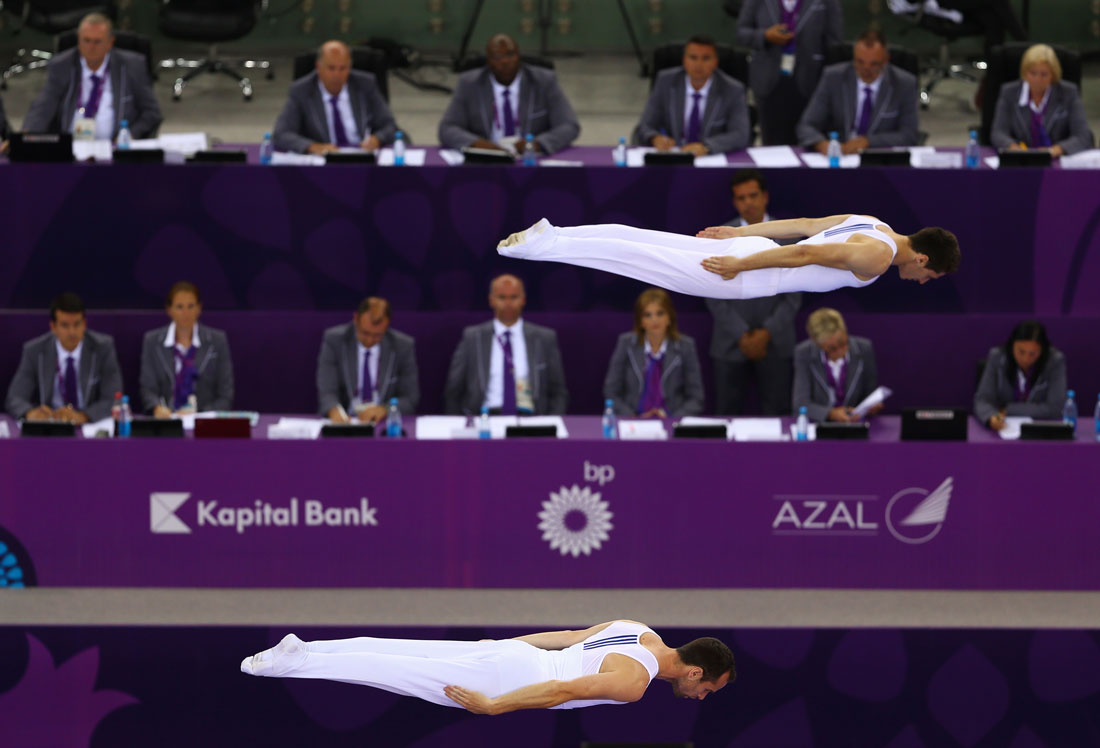 Men's Synchronised Trampoline, European Games, Baku, Azerbaijan, June 2015