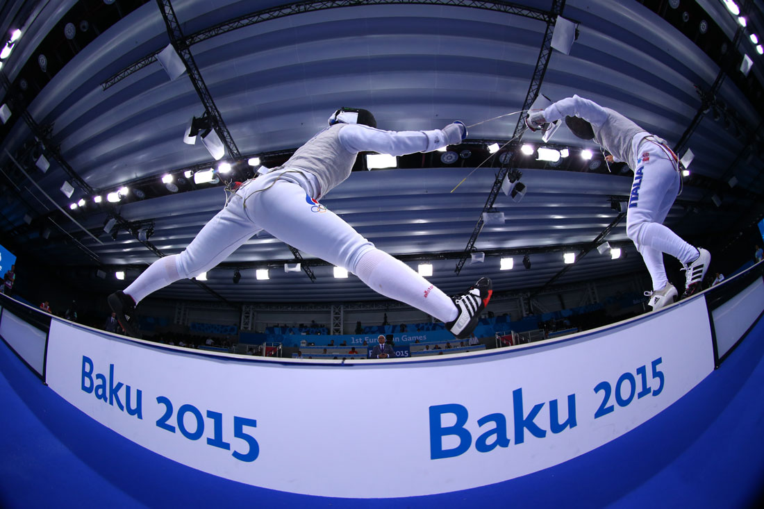 Women's Individual Foil, European Games, Baku, Azerbaijan, June 2015