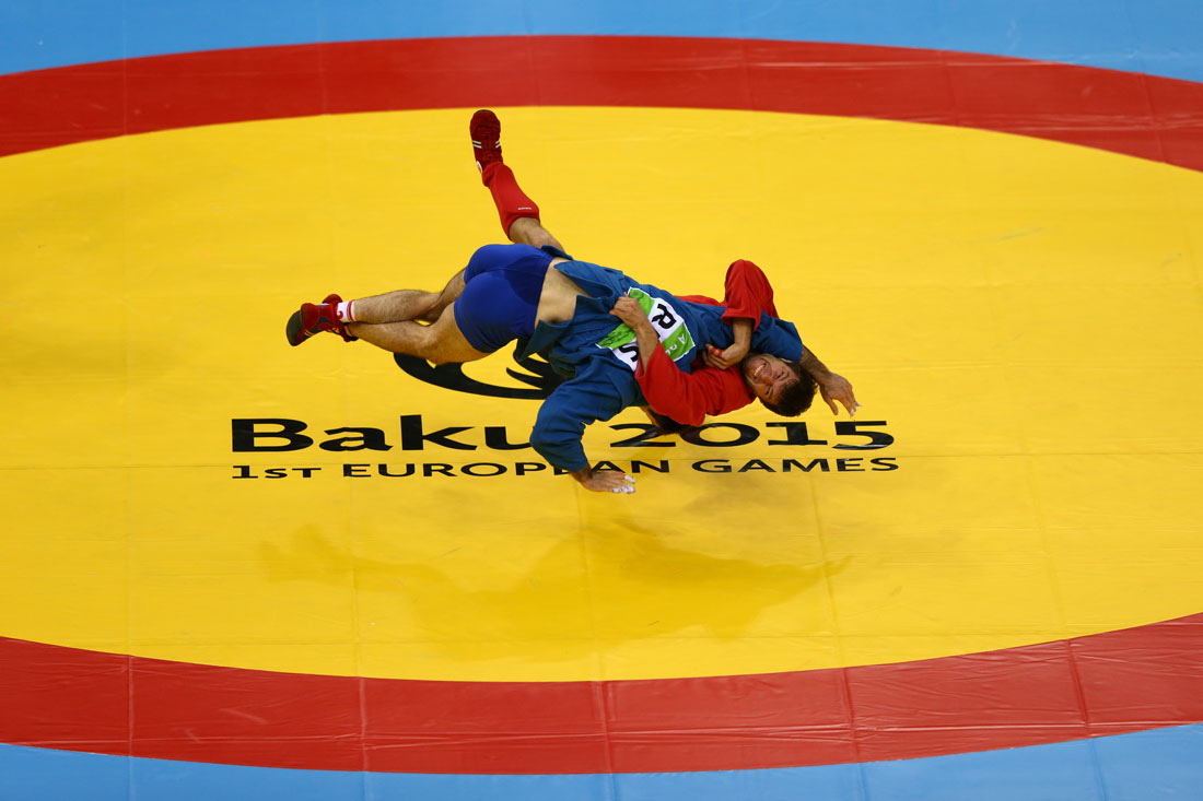 Men's 74kg Sambo, European Games, Baku, Azerbaijan, June 2015