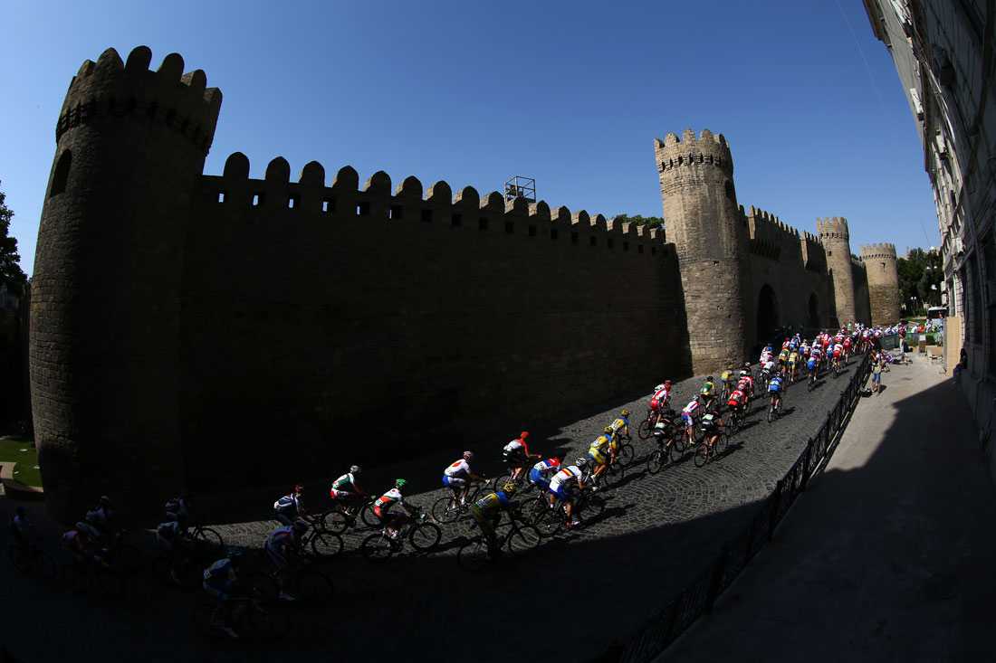 Men's Road Race, European Games, Baku, Azerbaijan, June 2015
