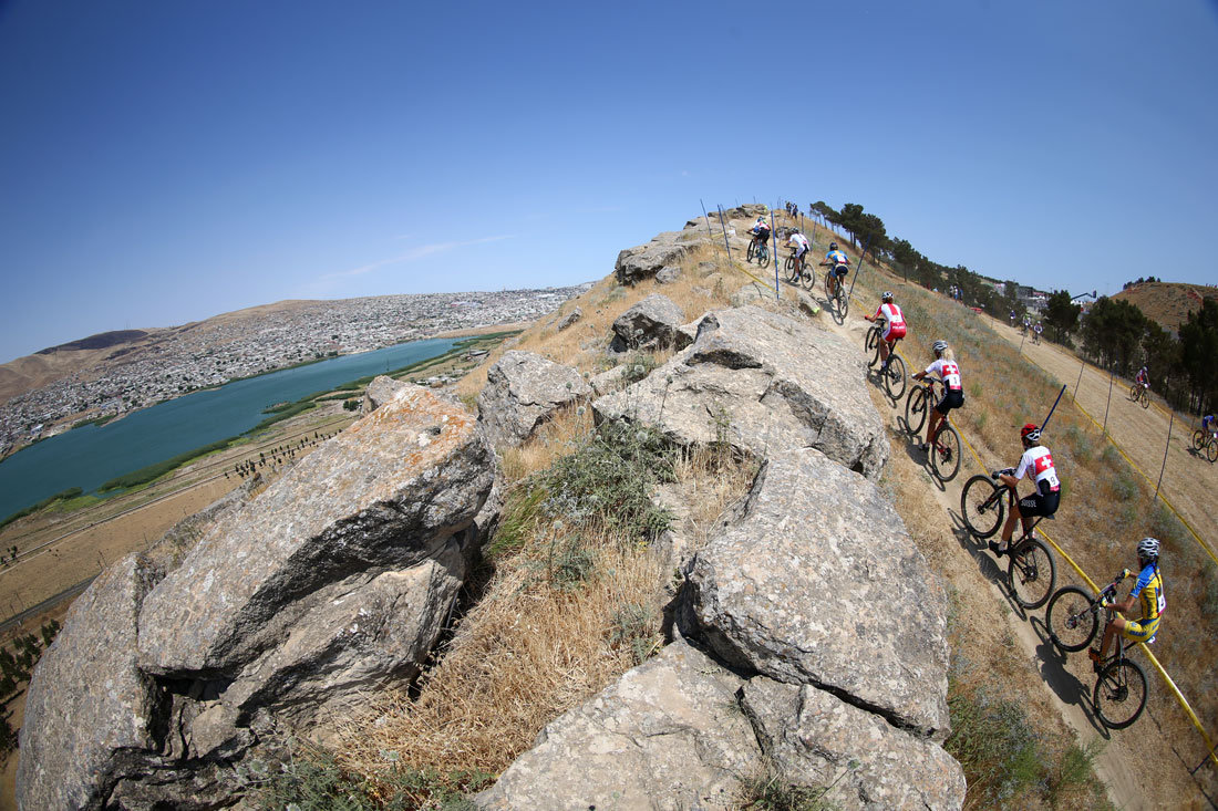 Women's Mountain Bike Race,European Games,Baku,Azerbaijan June 2015