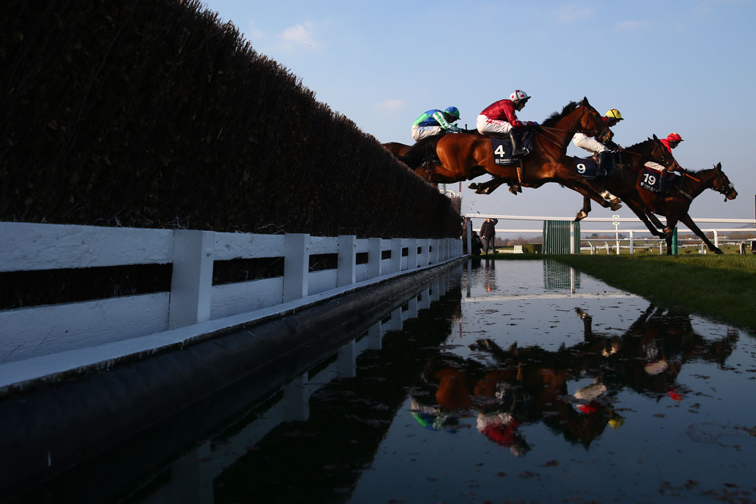 Water jump, Cheltenham Festival, 17th March 2016