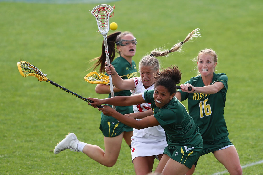 Australia v Canada, Women's Lacrosse World Cup, Guildford, July 2017