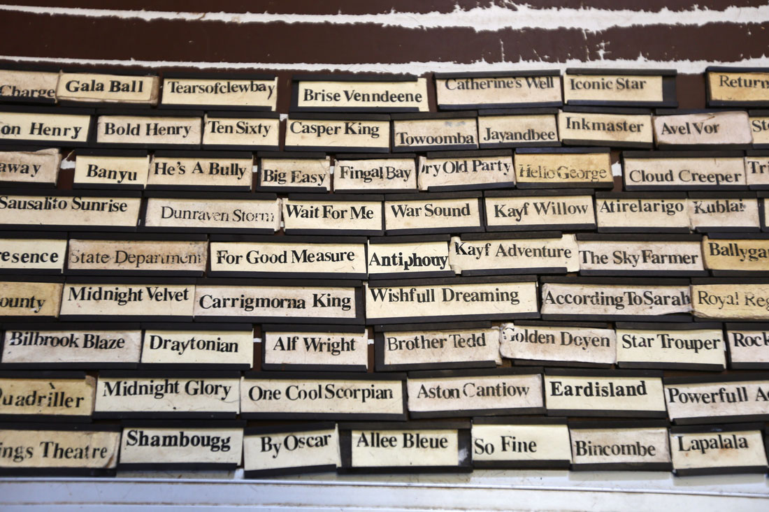 Name plates, 3rd August 2015