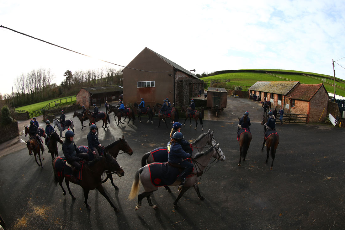 Parade ahead of third lot, 16th January 2016