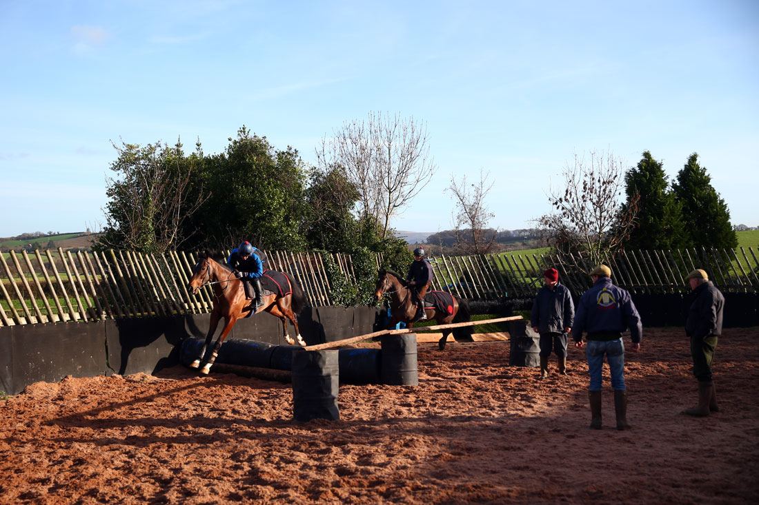 First time schoolers over barrels, 9th December 2015