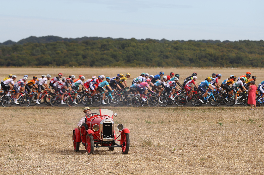 Tour de France Stage 12, Chauvigny to Sarran, September 10th 2020